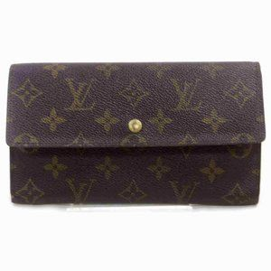 Auth Louis Vuitton Porte Tresor Long #N0986V71